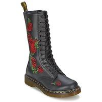 Čevlji  Ženske Mestni škornji    Dr Martens VONDA Črna