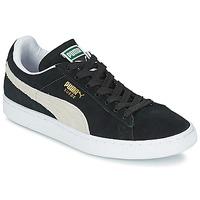 Čevlji  Nizke superge Puma SUEDE CLASSIC + Črna / Bela
