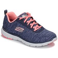 Čevlji  Ženske Fitnes / Trening Skechers FLEX APPEAL 3.0 Rožnata