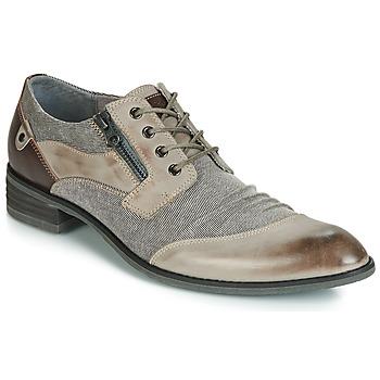 Čevlji  Moški Čevlji Derby Kdopa MONTMARTRE Siva