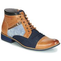 Čevlji  Moški Polškornji Kdopa ALMERIA Kamel / Modra