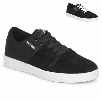 Čevlji  Nizke superge Supra STACKS II Črna / Bela