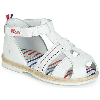 Čevlji  Otroci Sandali & Odprti čevlji GBB COCORIKOO Bela