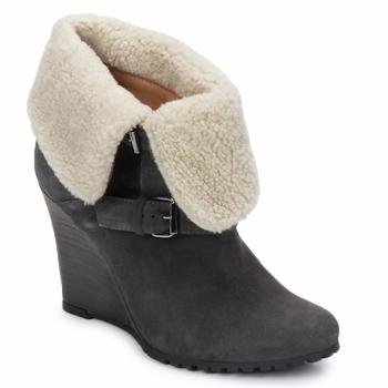 Čevlji  Ženske Gležnjarji Atelier Voisin CARLA Siva