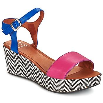 Čevlji  Ženske Sandali & Odprti čevlji Betty London EDOUVOLE Fuksija / Modra