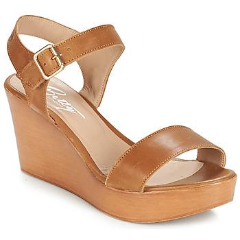 Čevlji  Ženske Sandali & Odprti čevlji Betty London CHARLOTA Kostanjeva