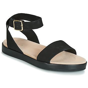 Čevlji  Ženske Sandali & Odprti čevlji Clarks BOTANIC IVY Črna