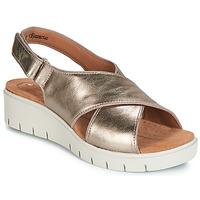 Čevlji  Ženske Sandali & Odprti čevlji Clarks UN KARELY SUN Pozlačena