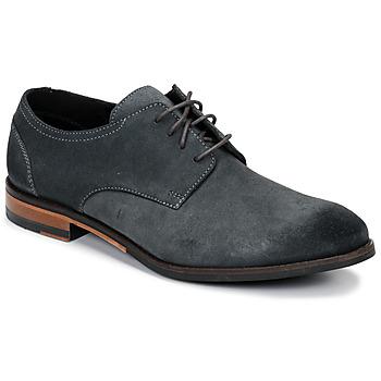 Čevlji  Moški Čevlji Derby Clarks FLOW PLAIN Siva