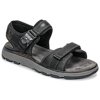 Čevlji  Moški Sandali & Odprti čevlji Clarks UN TREK PART Črna
