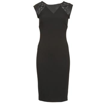 Oblačila Ženske Kratke obleke Naf Naf EPOIS Črna