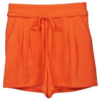 Oblačila Ženske Kratke hlače & Bermuda Naf Naf KUIPI Oranžna