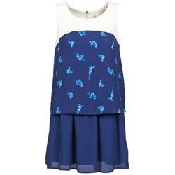 Oblačila Ženske Kratke obleke Naf Naf LIBAIN Modra