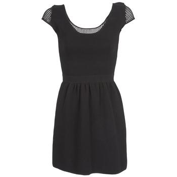 Oblačila Ženske Kratke obleke Naf Naf MANGUILLA Črna