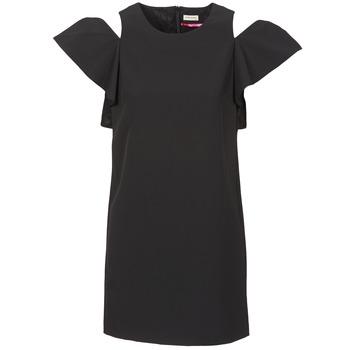 Oblačila Ženske Kratke obleke Naf Naf X-KARLI Črna