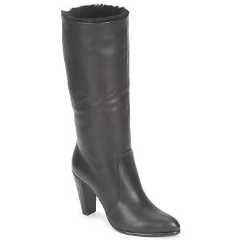Čevlji  Ženske Mestni škornji    Michel Perry CALF Črna