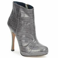 Čevlji  Ženske Gležnjarji Pollini PA2115 Siva