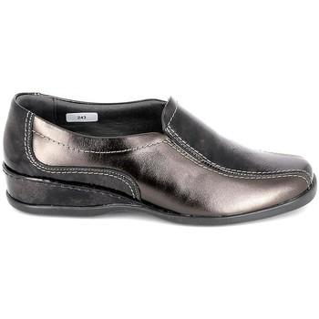 Čevlji  Ženske Balerinke Boissy Sneaker 4007 Marron Kostanjeva