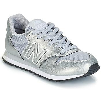 Čevlji  Ženske Nizke superge New Balance GW500 Srebrna