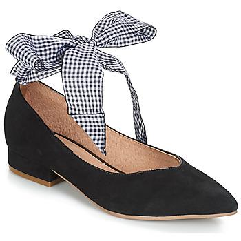 Čevlji  Ženske Balerinke Karston KEBEC Črna