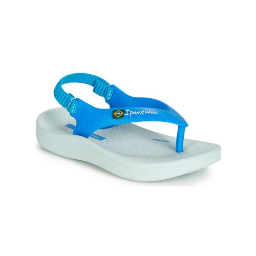Čevlji  Otroci Sandali & Odprti čevlji Ipanema ANATOMIC SOFT BABY Modra / Bela