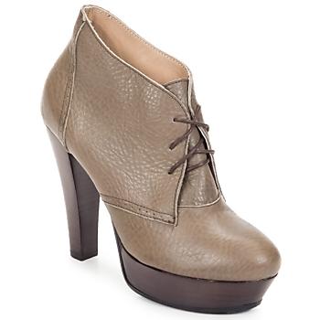 Čevlji  Ženske Nizki škornji Keyté ETRIOU Taupe
