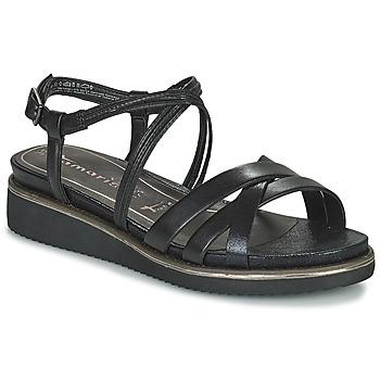 Čevlji  Ženske Sandali & Odprti čevlji Tamaris EDA Črna