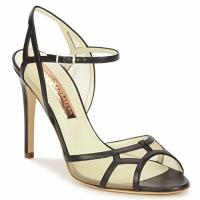Čevlji  Ženske Sandali & Odprti čevlji Rupert Sanderson TREEN Črna / Bež
