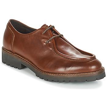 Čevlji  Moški Čevlji Derby André VILLETTE Kostanjeva