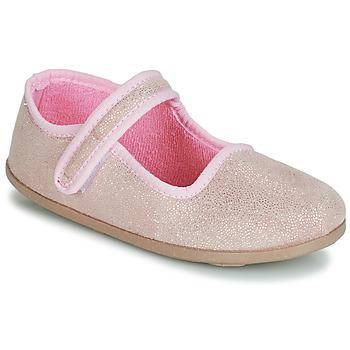 Čevlji  Deklice Balerinke André VIOLINE Rožnata