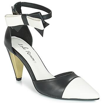 Čevlji  Ženske Sandali & Odprti čevlji Lola Ramona RAMONA Črna / Bela