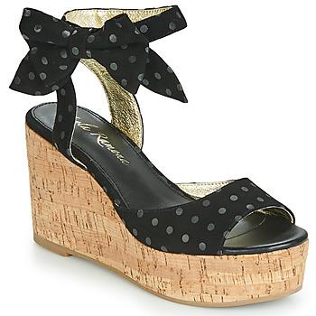Čevlji  Ženske Sandali & Odprti čevlji Lola Ramona NINA Črna