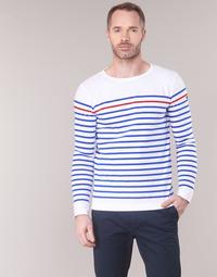 Oblačila Moški Majice z dolgimi rokavi Armor Lux YAYAYOUT Bela / Modra / Rdeča