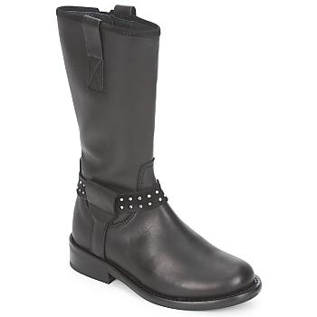 Čevlji  Deklice Polškornji Hip GRABI Črna