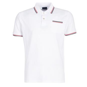 Oblačila Moški Polo majice kratki rokavi Gant COL TIPPING PIQUE Bela