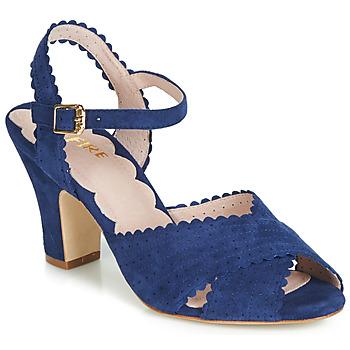 Čevlji  Ženske Sandali & Odprti čevlji Miss L'Fire BEATRIZ Modra
