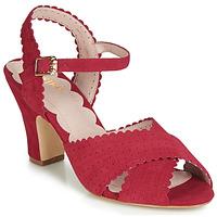Čevlji  Ženske Sandali & Odprti čevlji Miss L'Fire BEATRIZ Rdeča