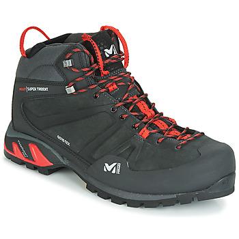 Čevlji  Moški Pohodništvo Millet SUPER TRIDENT GTX Črna / Rdeča