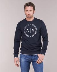 Oblačila Moški Puloverji Armani Exchange HERBARI Črna