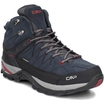 Čevlji  Moški Pohodništvo Cmp 3Q1294762BN Črna,Mornarsko modra