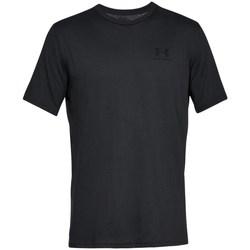 Oblačila Moški Majice s kratkimi rokavi Under Armour Sportstyle Left Chest Črna
