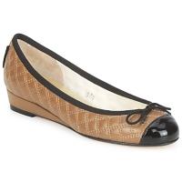Čevlji  Ženske Balerinke French Sole HENRIETTA Taupe