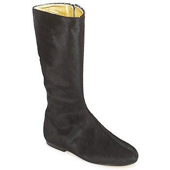 Čevlji  Ženske Mestni škornji    French Sole PATCH Črna