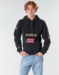 Oblačila Moški Puloverji Geographical Norway GYMCLASS Črna