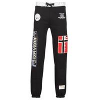 Oblačila Moški Spodnji deli trenirke  Geographical Norway MYER Črna