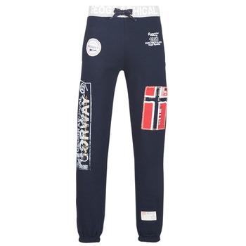 Oblačila Moški Spodnji deli trenirke  Geographical Norway MYER Modra