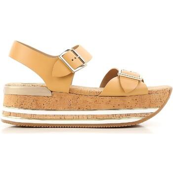 Čevlji  Ženske Sandali & Odprti čevlji Hogan HXW3540AA40D0WC611 beige