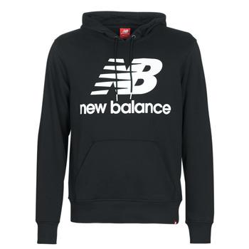 Oblačila Moški Puloverji New Balance NB SWEATSHIRT Črna