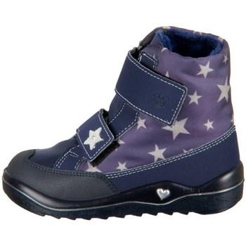 Čevlji  Deklice Škornji za sneg Ricosta Bibbi Mornarsko modra