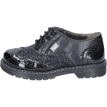 Čevlji  Deklice Čevlji Derby Solo Soprani BT296 Črna